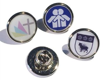 Premium small round badge